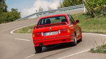 BMW M3, E30, Heckansicht