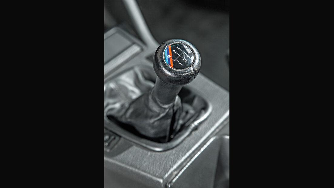 BMW M3 E30, Schalthebel