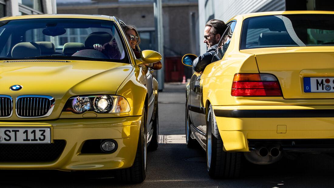 BMW M3 E36, BMW M3 E46, Exterieur