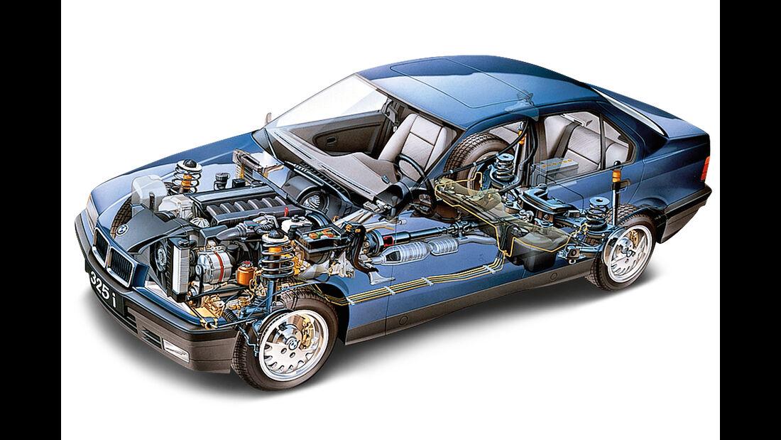 BMW M3 E36, Durchsicht