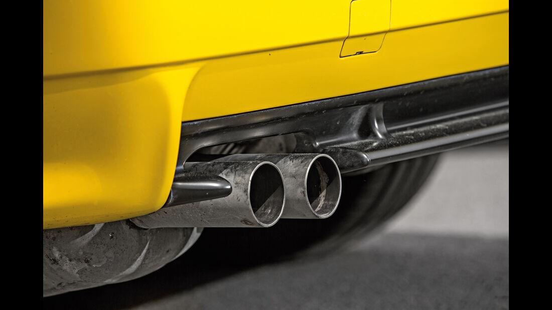 BMW M3 E36, Endrohre