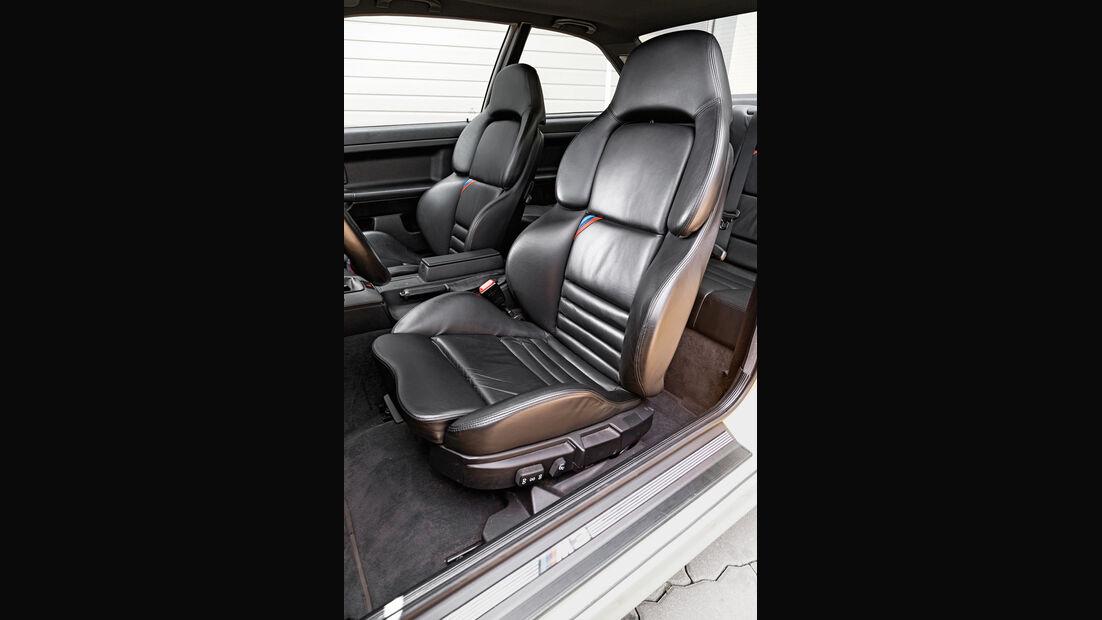 BMW M3 (E36), Fahrersitz