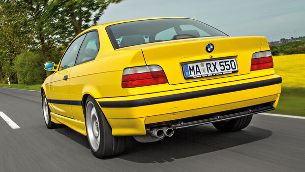 BMW M3 E36, Heckansicht