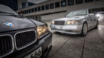 BMW M3 (E36) Limousine Mercedes C36 AMG (W202)