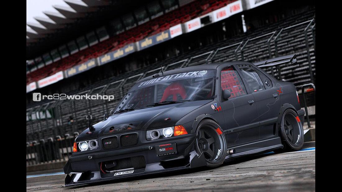BMW M3 E36 - Photoshop