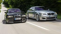 BMW M3 (E46), BMW M5 (E60), Exterieur