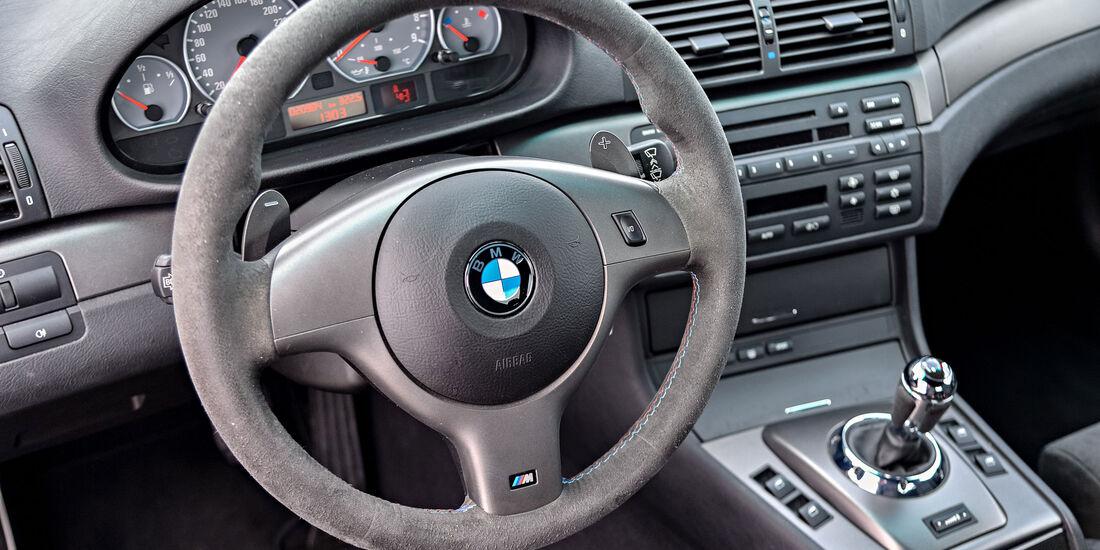 BMW M3 E46 CSL - Lenkrad - Innenraum