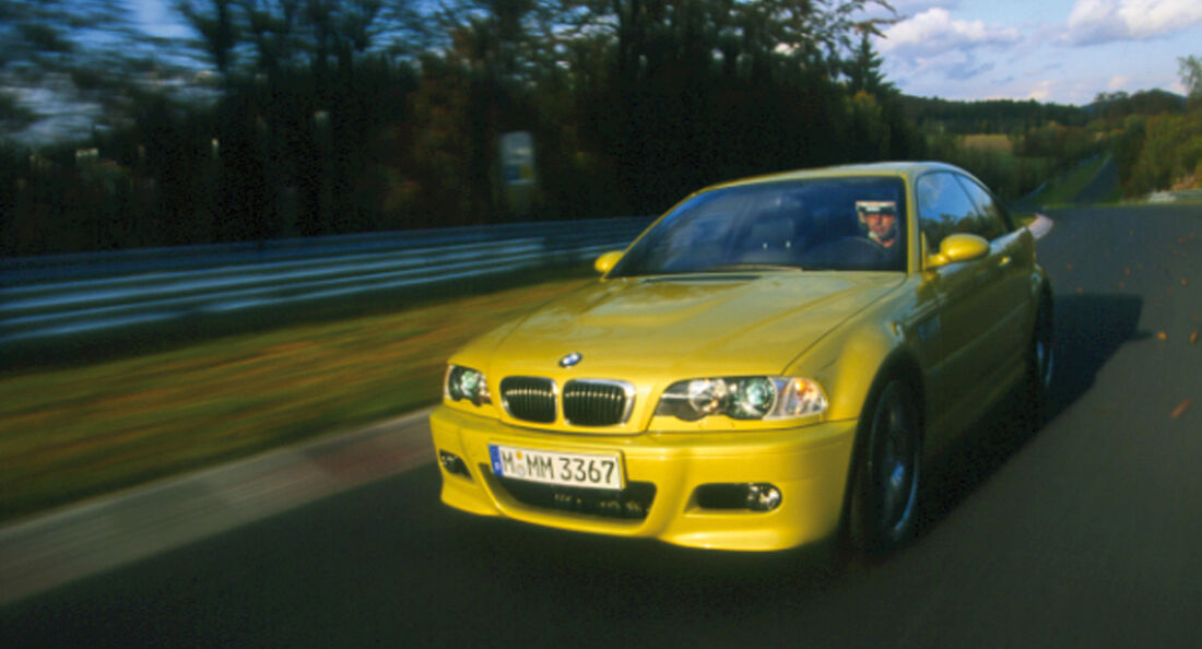 BMW M3 E46, Frontansicht