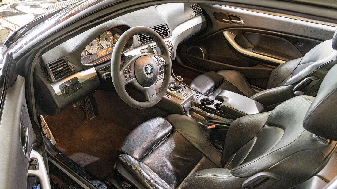 BMW M3 (E46), Interieur