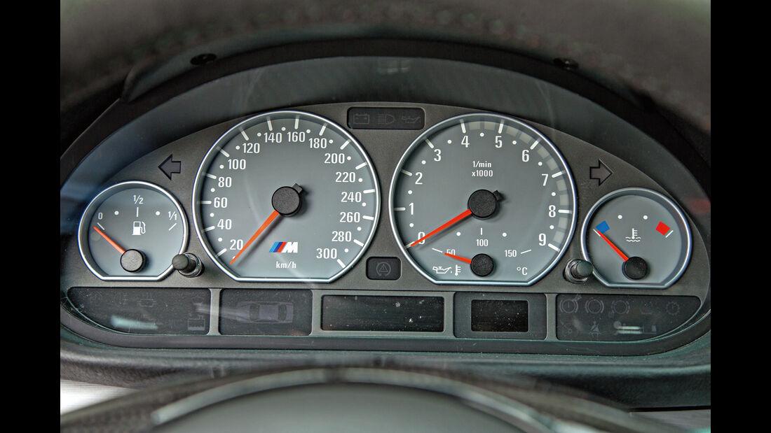 BMW M3 E46, Rundinstrumente