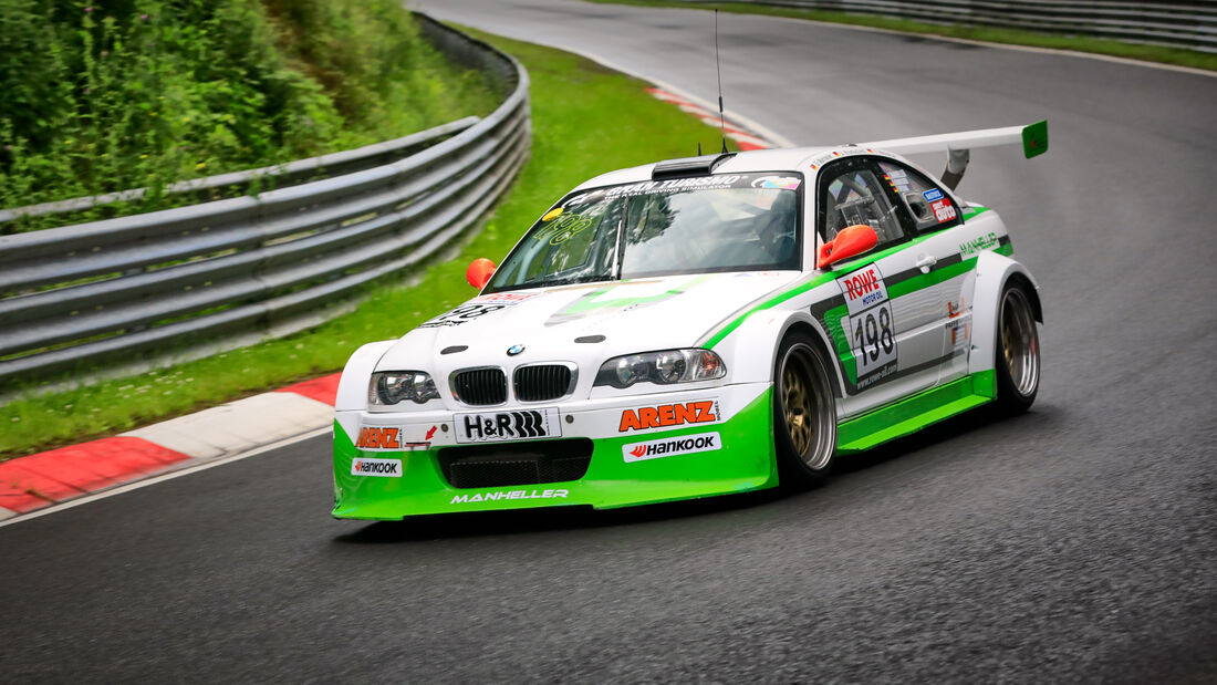BMW M3 E46 - Startnummer #198 - Manheller Racing - SP6 - NLS 2021 - Langstreckenmeisterschaft - Nürburgring - Nordschleife