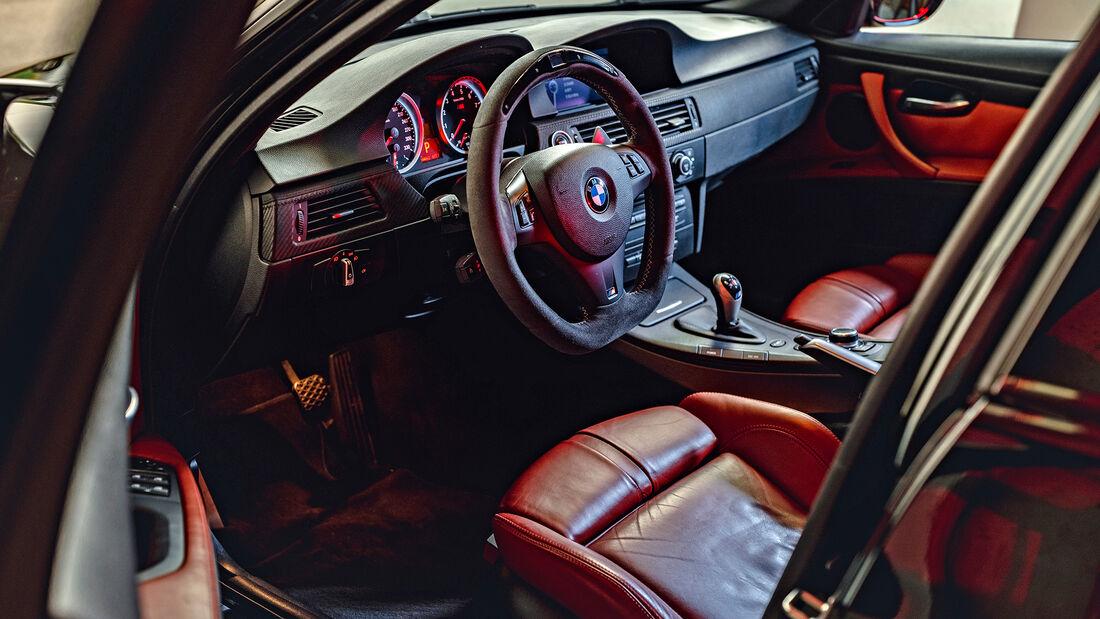 BMW M3 E90, Interieur