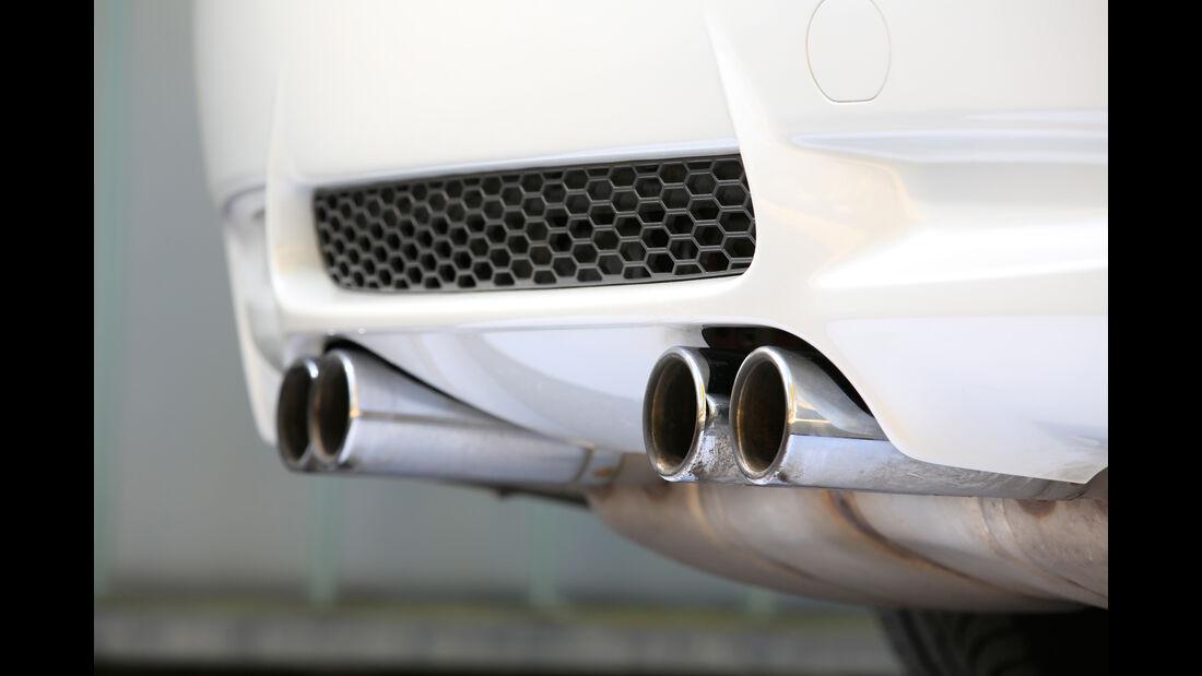 BMW M3, Endrohre