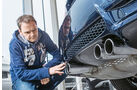 BMW M3, Endrohre, Auspuff