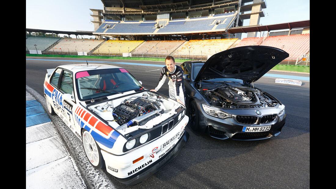 BMW M3 F80, BMW M3 E30 DTM, Motorhaube