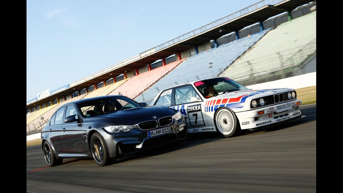BMW M3 F80, BMW M3 E30 DTM, Seitenansicht