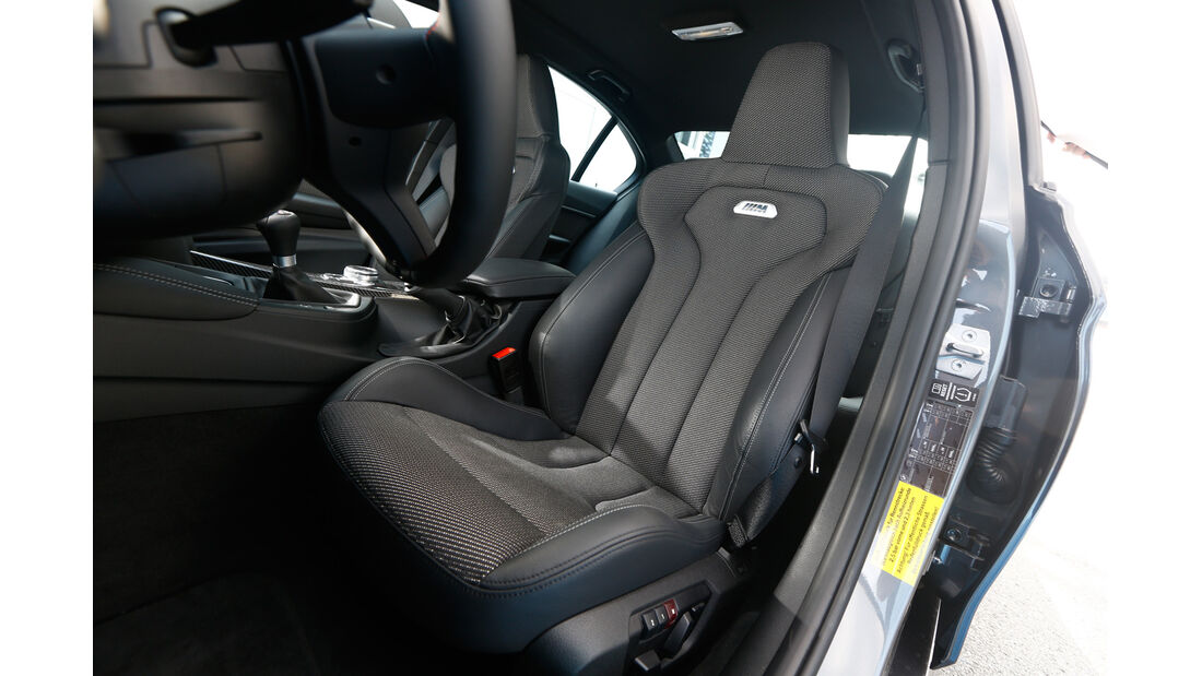 BMW M3 F80, Fahrersitz