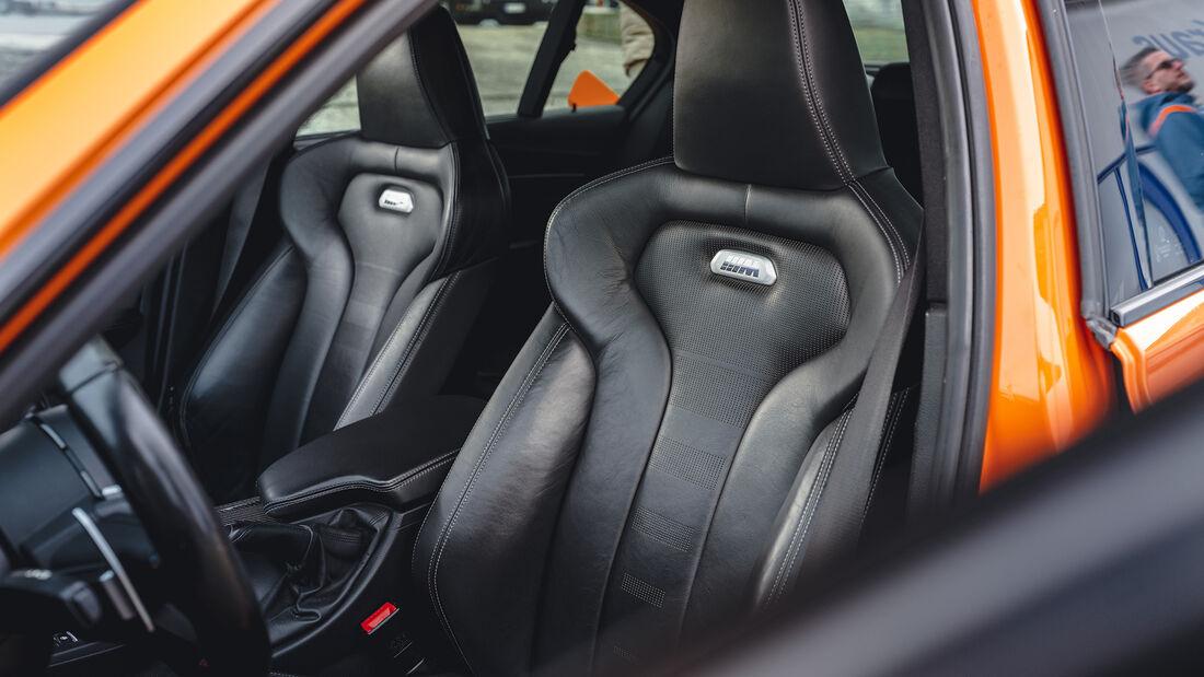 BMW M3 F80, Interieur