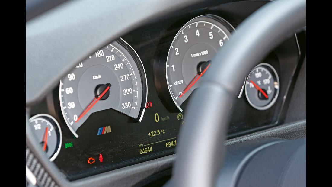 BMW M3 F80, Rundinstrumente