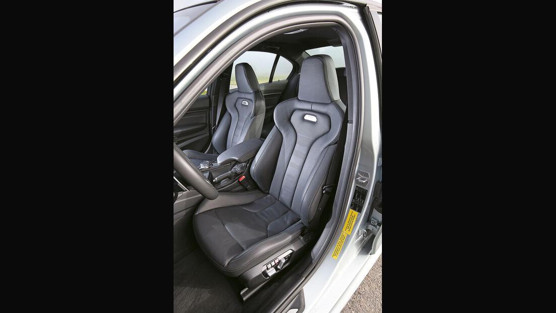 BMW M3, Fahrersitz
