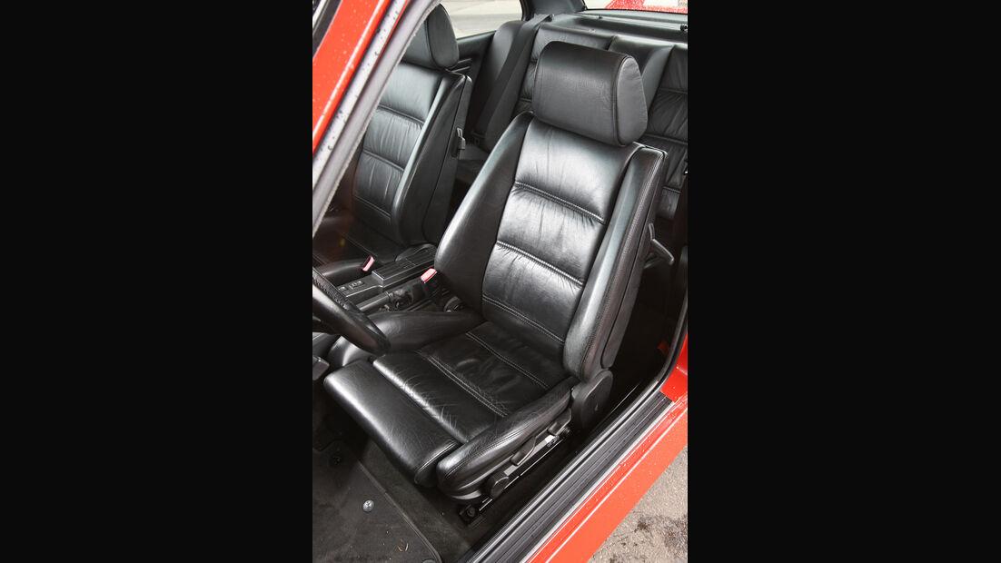 BMW M3, Fahrersitz, Ledersitz