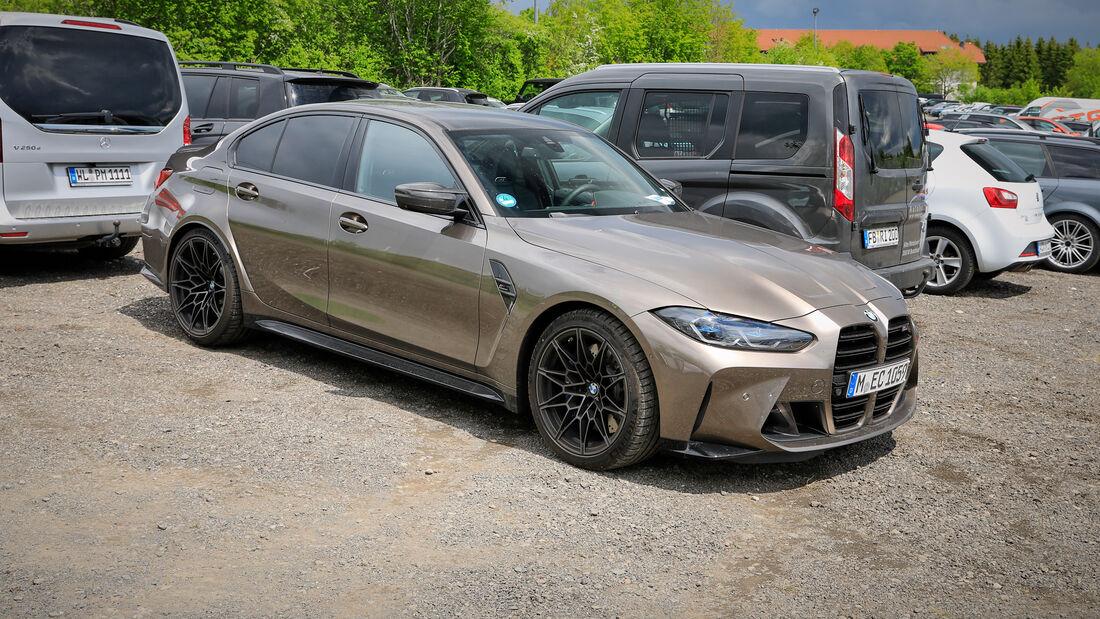 BMW M3 - Fanautos - 24h Rennen Nürburgring - Nürburgring-Nordschleife - 4. Juni 2021