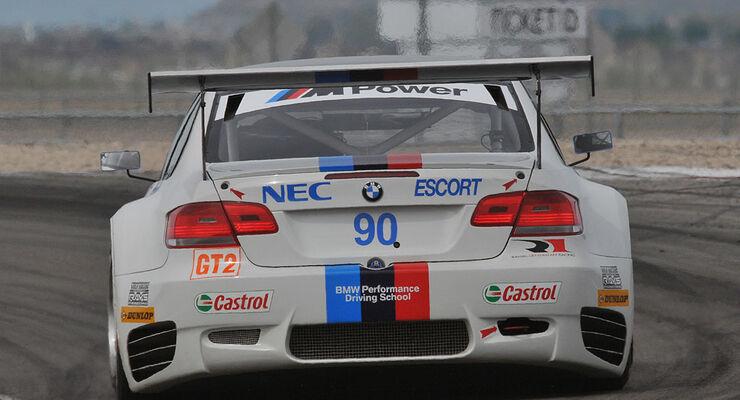 BMW M3 GT2 Rahal Letterman Racing Team Utah Grand Prix (05/2009)