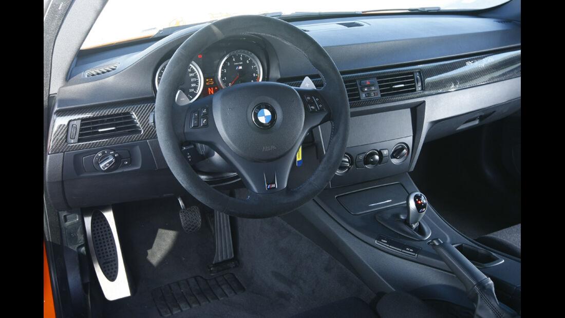 BMW M3 GTS Cockpit