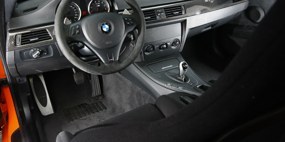 BMW M3 GTS Innenraum
