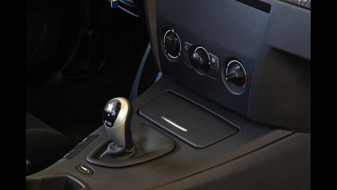 BMW M3 GTS Mittelkonsole