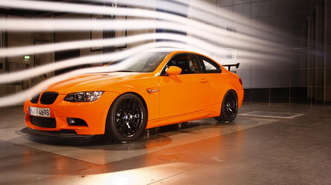 BMW M3 GTS, Windkanal