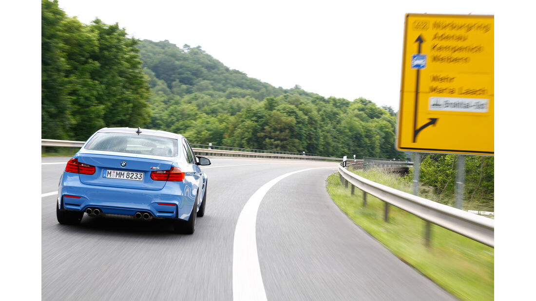 BMW M3, Heckansicht