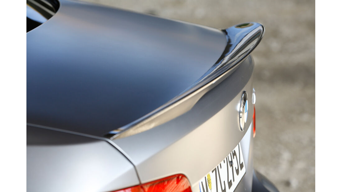 BMW M3, Heckschürze, Heckspoiler