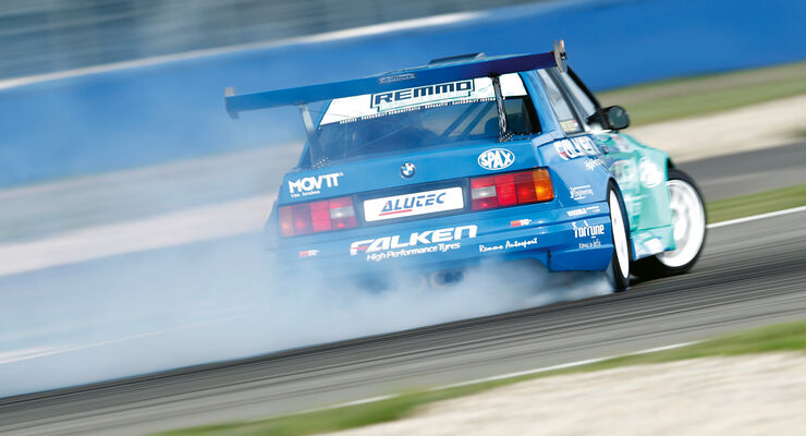 BMW M3 Kompressor, Driften