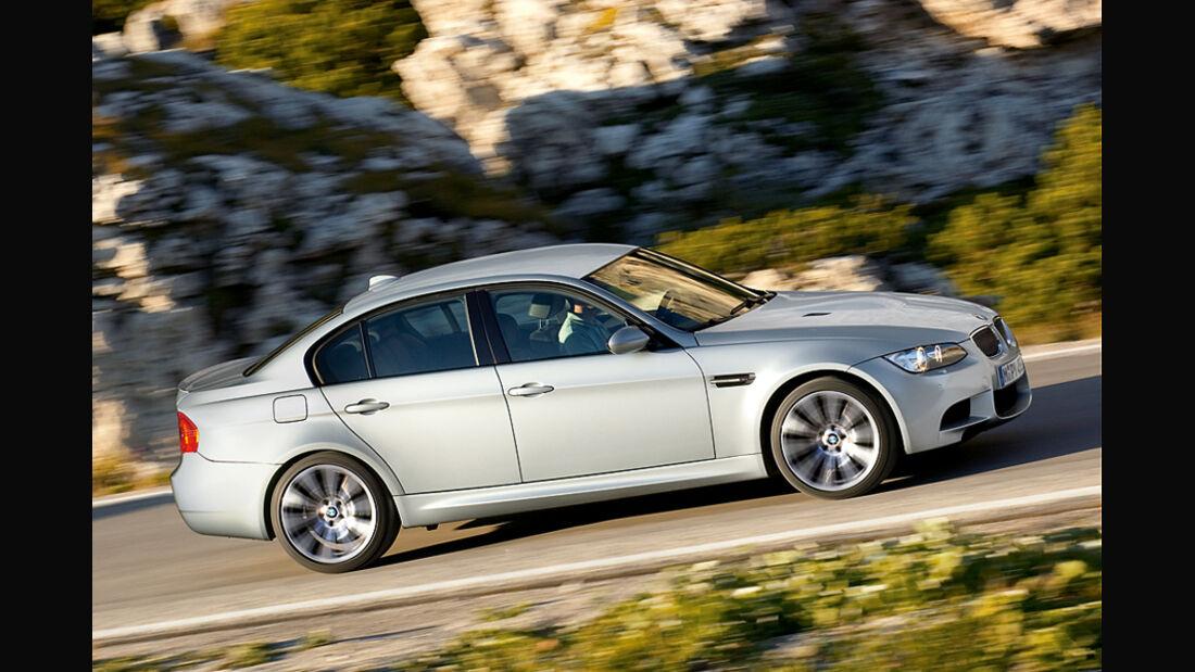 BMW M3 Limousine, E90, Seite