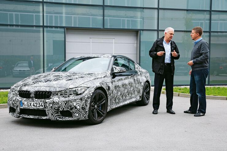 BMW M3/M4, Technik, Albert Biermann