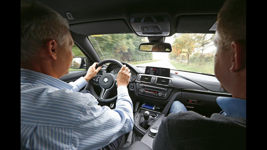 BMW M3/M4, Technik, Cockpit