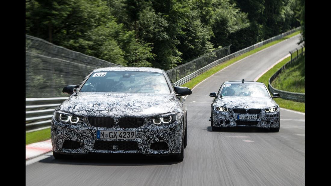 BMW M3/M4, Technik, Erlkönige