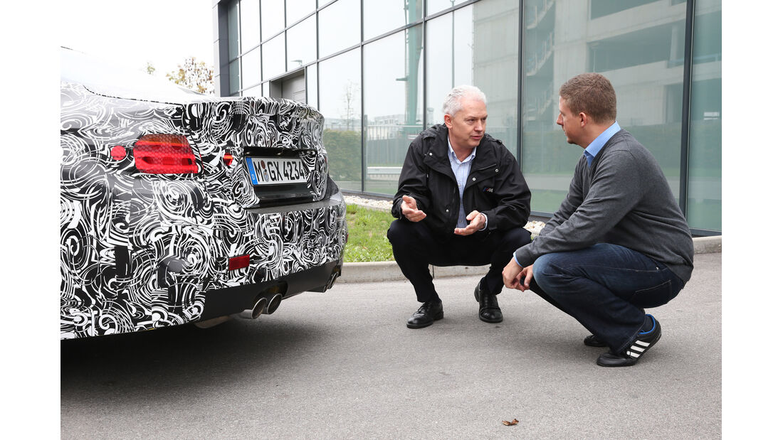 BMW M3/M4, Technik, Heck