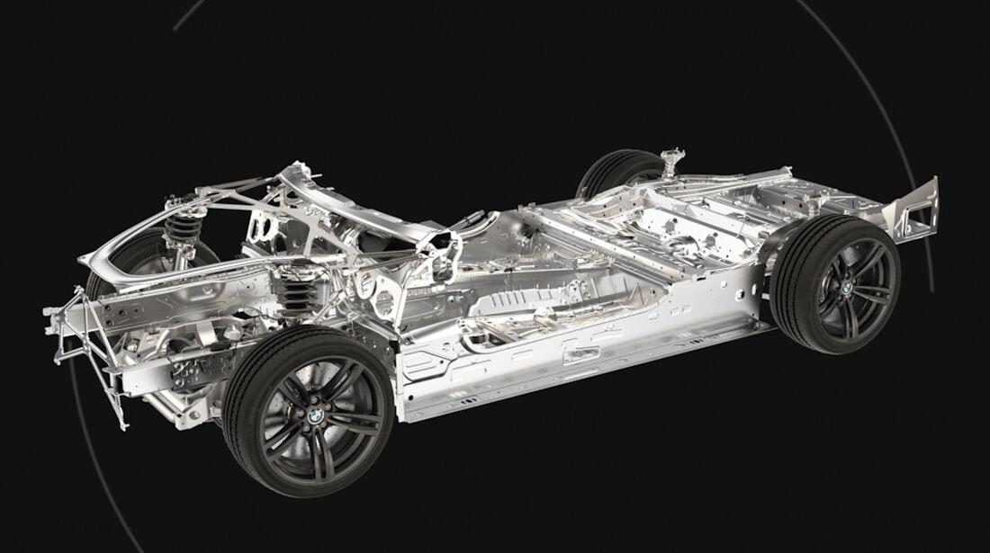 BMW M3/M4, Technik, Teil, Detail