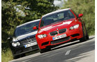 BMW M3, Mercedes CLK 63 AMG Black Series