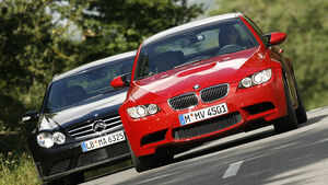 BMW M3, Mercedes CLK 63 AMG Black Series