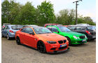BMW M3 - Mercedes E-Klasse - Fan-Autos - 24h-Rennen Nürburgring 2018 - Nordschleife