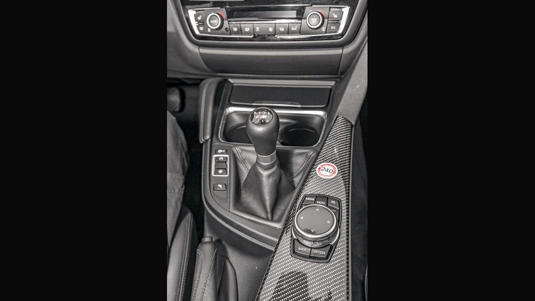 BMW M3, Mittelkonsole