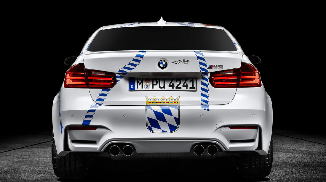 BMW M3 Münchner Wirte Wiesn
