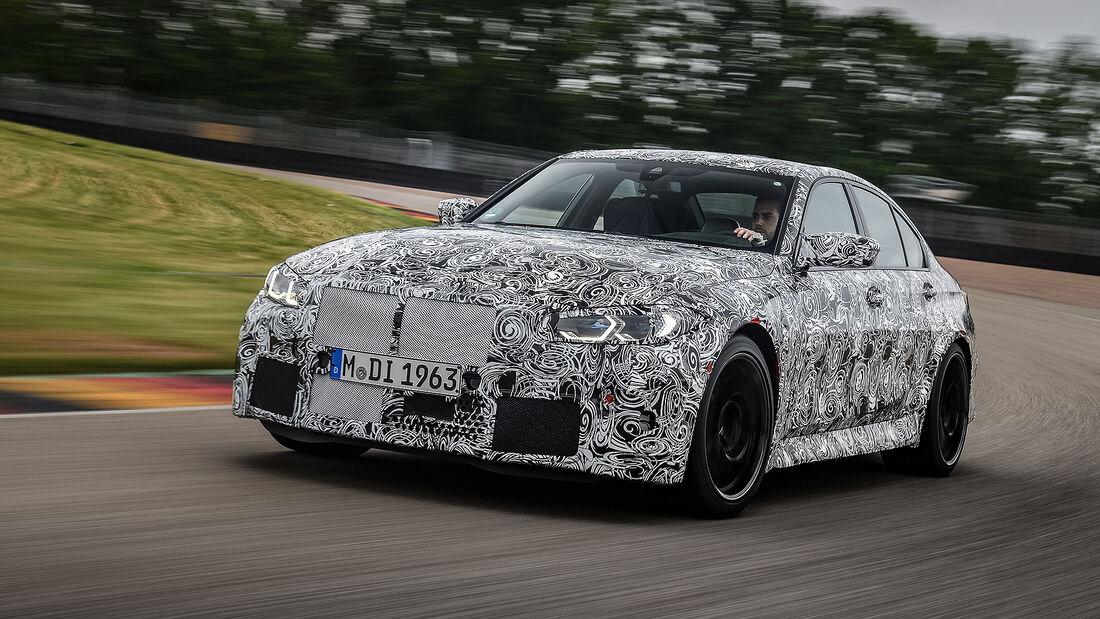 BMW M3 Prototyp Erlkönig