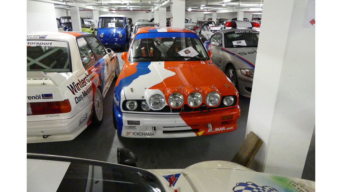 BMW M3 Rallye - Baujahr 1986 - Rennwagen - BMW Depot