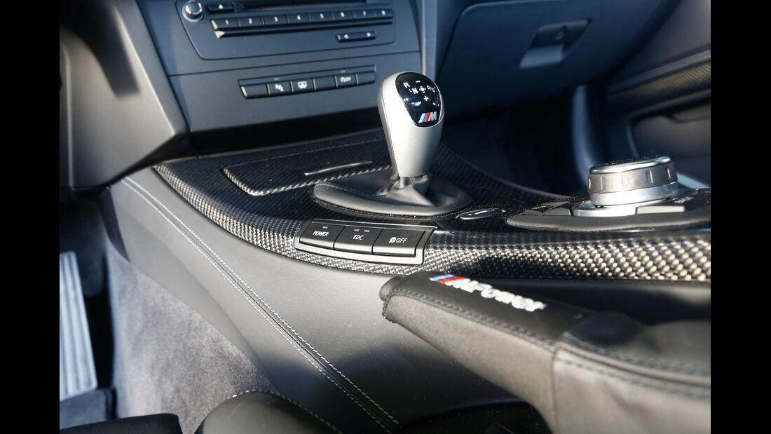 BMW M3, Schalthebel, Schaltung