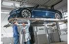 BMW M3, Seitenansicht, Hebebühne