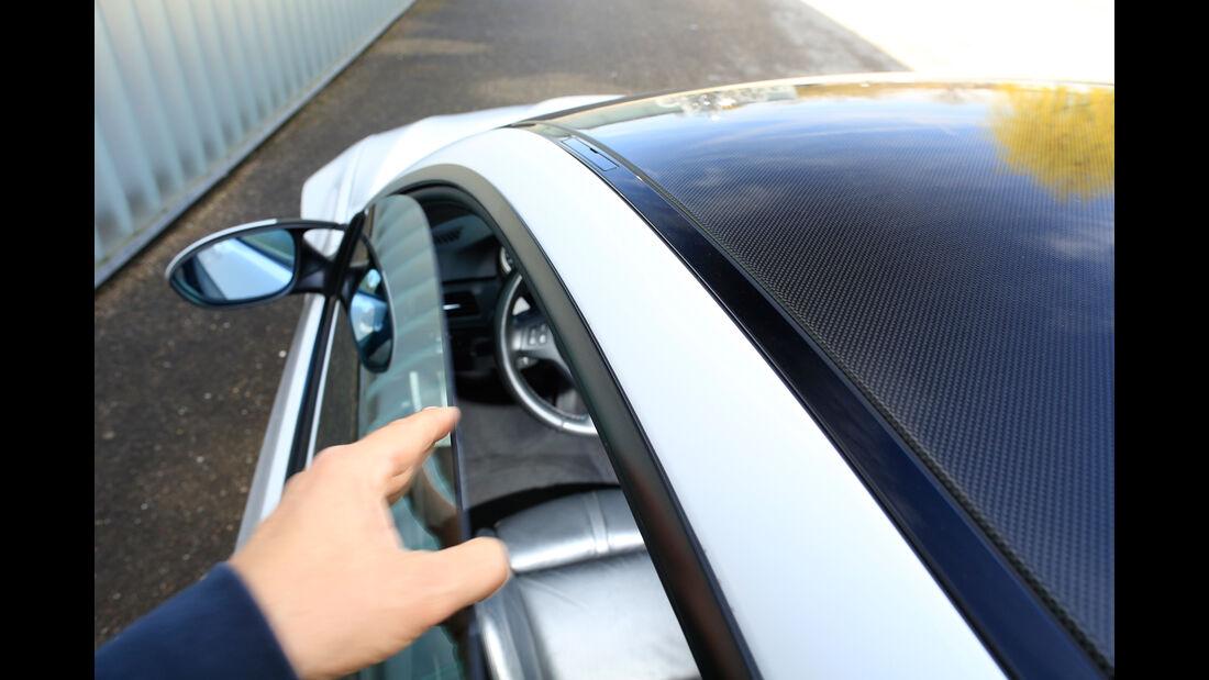 BMW M3, Seitenfenster